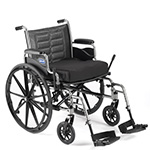 Invacare Tracer EX2 Wheelchair with Permanent Arms